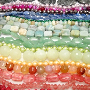 New Beads in a Rainbow of Colors