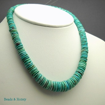 Genuine Graduated Arizona Turquoise, AAA Quality