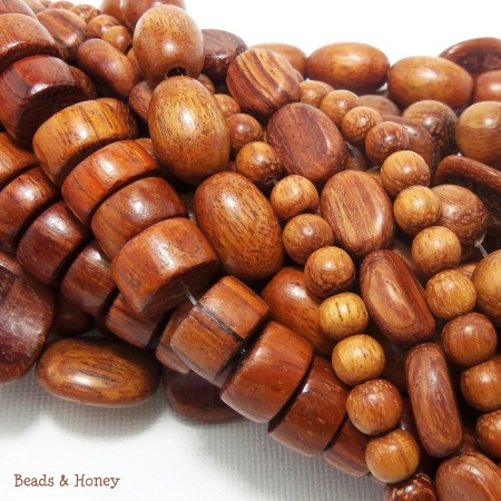 Bayong Wood Beads Mix