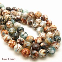 Fired Agate Beads
