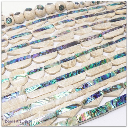 The new Mactan stone beads are here!