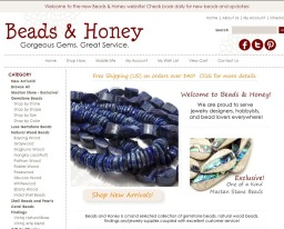 The New Beads and Honey Website!