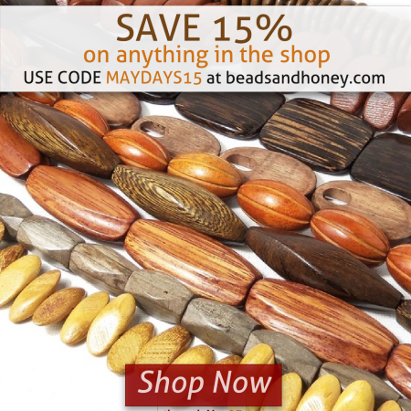 Shop Now and Save 15% at beadsandhoney.com
