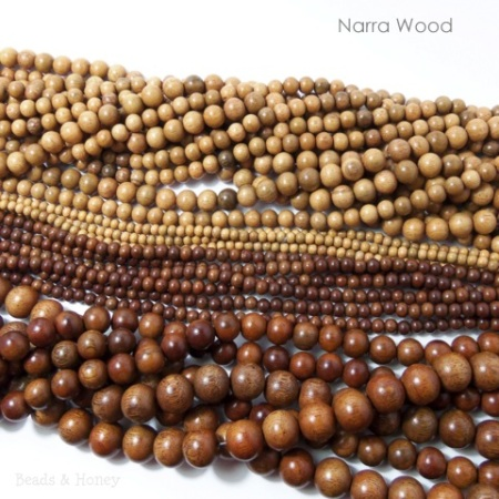 Narra Wood Beads